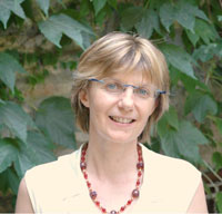 La Prof.ssa Zanetti dell'Università di Pavia