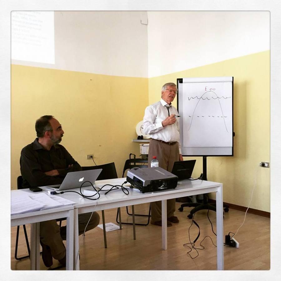 Massimo Schinco e Art Funkhouser a Milano, 19 settembre 2015: