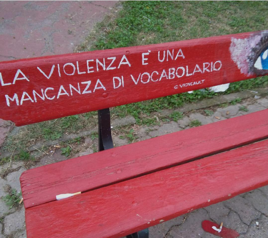Grazie a Fabio Milazzo per la foto, scattata a Carmagnola. La frase è di Gilles Vigneault, cantautore, poeta e scrittore canadese.